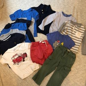 Boys 3T lot of clothes (crewcuts, gap, etc)